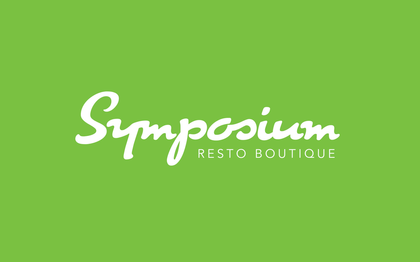 Symposium resto boutique